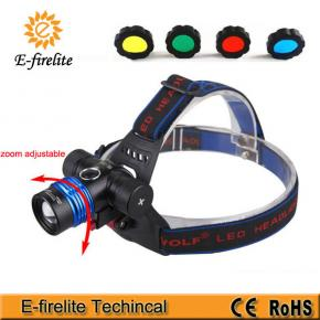 EF-6015 multi-functional LED headlamp